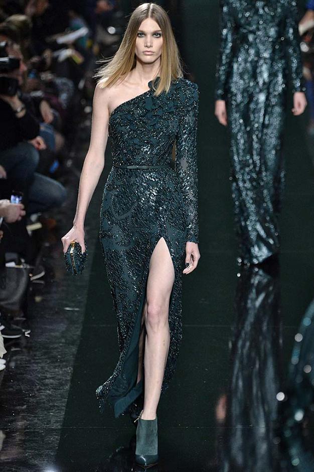 Elie Saab Womenswear Fall Winter 2014 Paris Fashion Week February - March 2014