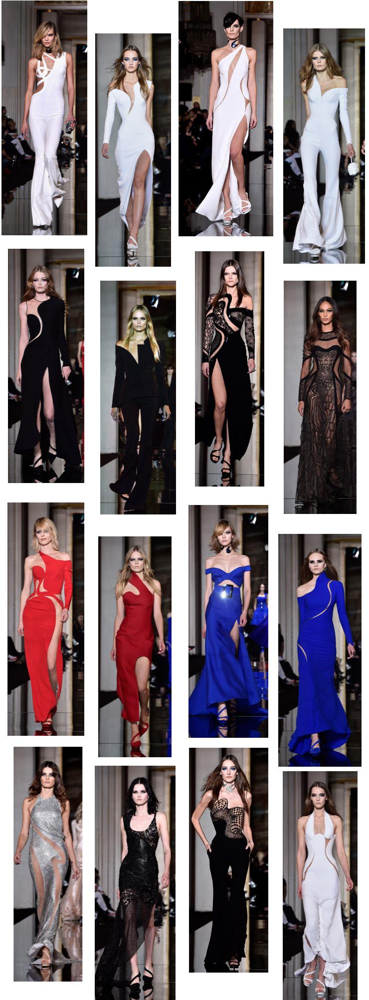 %grifina Atelier Versace abre a semana de moda de Alta Costura em Paris: Verão 2015