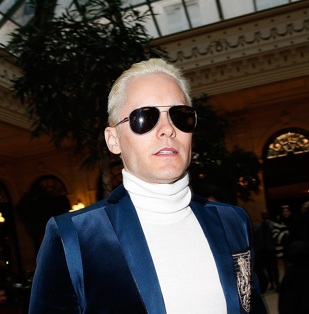 Jared-Leto-Kim-Kardashian-Platinum-Blonde-Hair