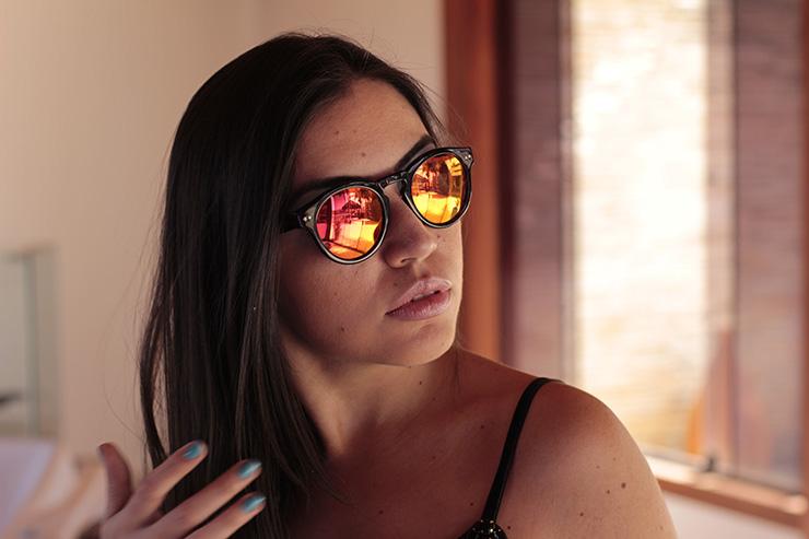 Look e óculos de sol para arrasar no fim de semana! a6267a2ca7