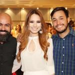 Alex Ric, Agatha Silvestre e Renan Fernandes.