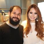 Daniel Zukko e Agatha Silvestre