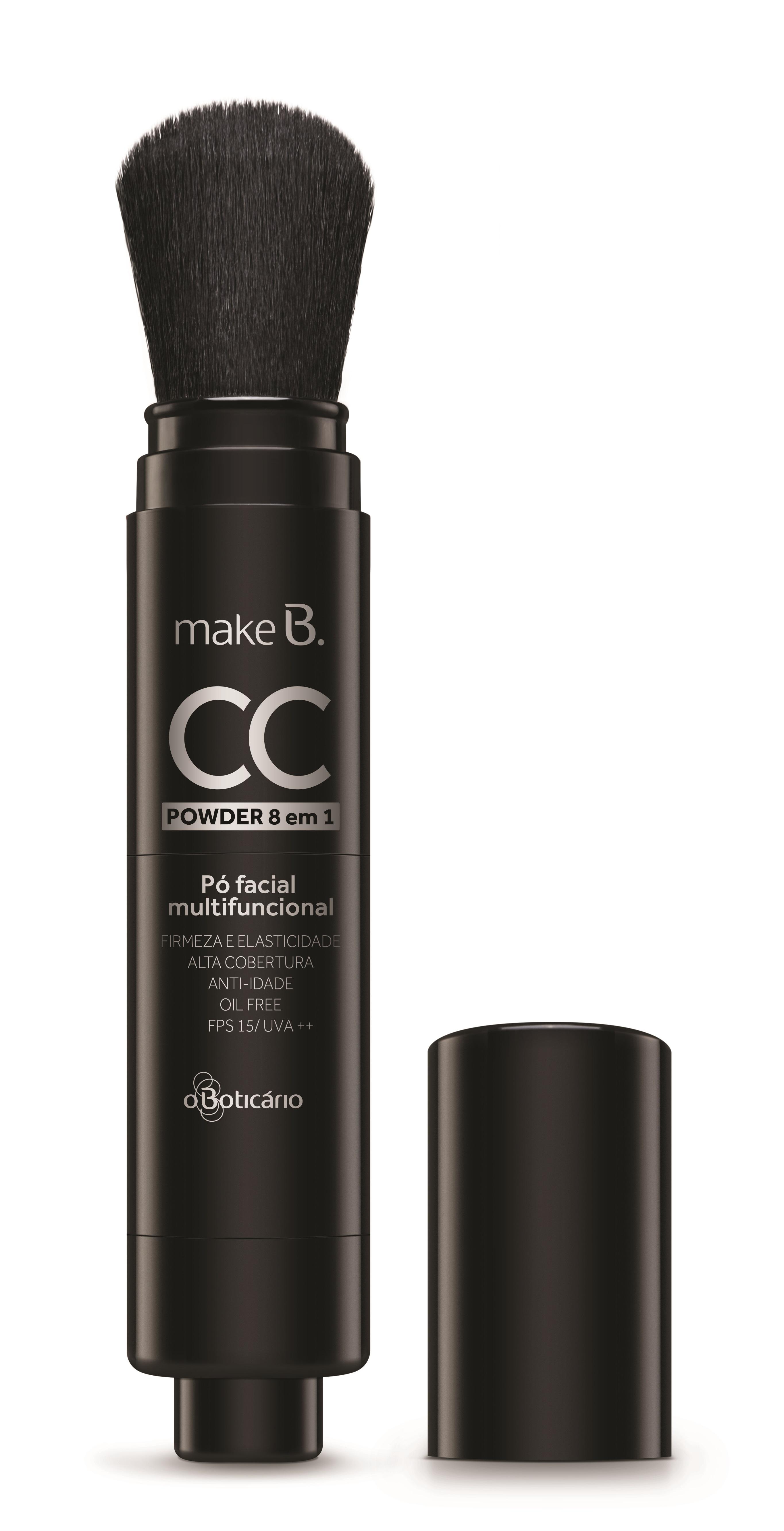 CC Creams e Powders são novidades de Make B.! 2
