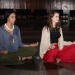 Lea Cerezo e Isabeli também meditaram no tempo LBV