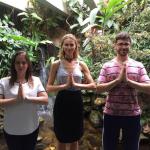 Renata Kuerten visitou o Templo da LBV e postou em seu Instagram