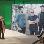 Mariana Weickert apresentou a cerimônia e entrevistou a estilista Lenny Niemeyer