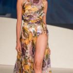 Caroline Contator inspirou-se no Maracujá para criar seus looks! Da flor ao fruto! Foto: Sergio Amaral / CNI