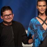 Renata Kuerten desfila para Lucas Batista, que retratou a metamorfose da borboleta! oto Sérgio Amaral CNI