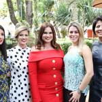 Carol Montiel, Carol Hudson, Faby Damasceno, Pati Avelar e Doró Mendonça