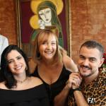 Fabiola Salomon, Rita Landim e Tiago Correia