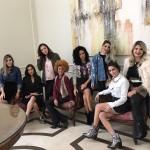 Vanessa, Nicole, Jéssica, Sabrinna, Gliss, Manuela, Marcela e Bruna!