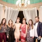 Renata Castro, Aline Sanromã, Vivia Spier, Vanessa Vasconcelos, Rafa Rabelo e Uirá Godoi
