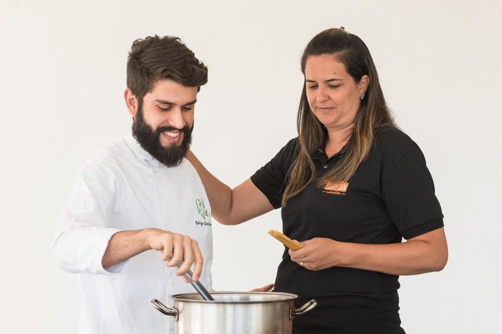 Rodrigo Quintiliano e Fernanda La Rocque