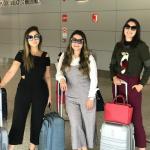 Aerollook: macacão Avanzzo. Com as amigas bloggers Rafa Rabelos e Valéria Lessa