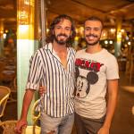 Rodrigo Holmes e Wellington Costa