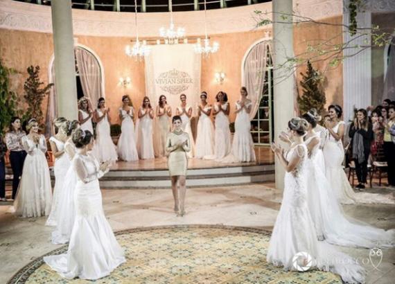 Maison Vivian Spier prepara desfile da sua nova coleção noivas 19